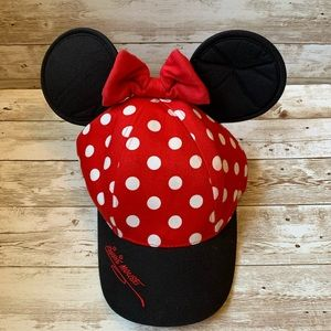 NWOT Walt Disney World Minnie Mouse Youth Hat